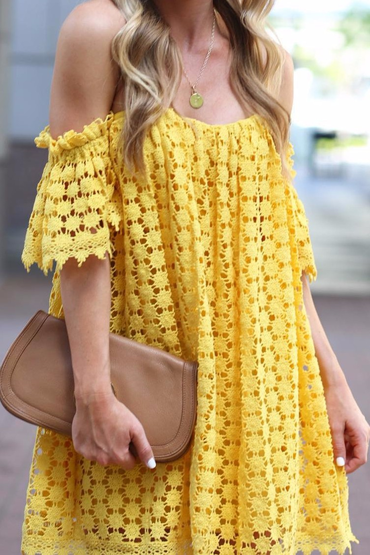Yellow is the perfect springtime color