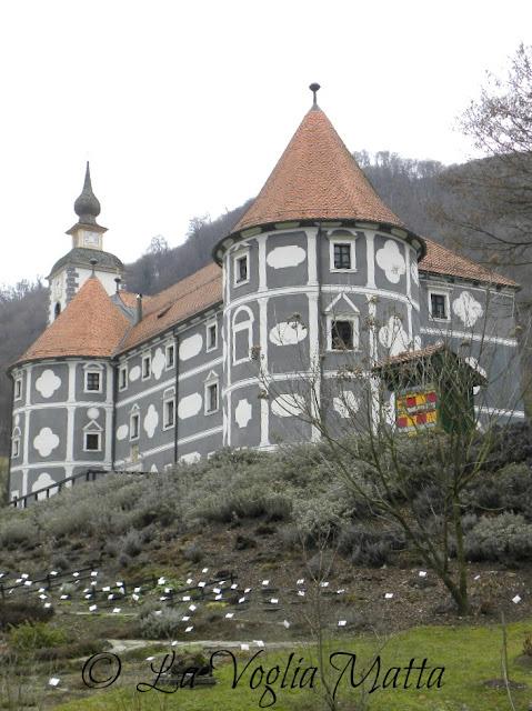 Castello di Olimje trasformato in monastero dai monaci Paolini