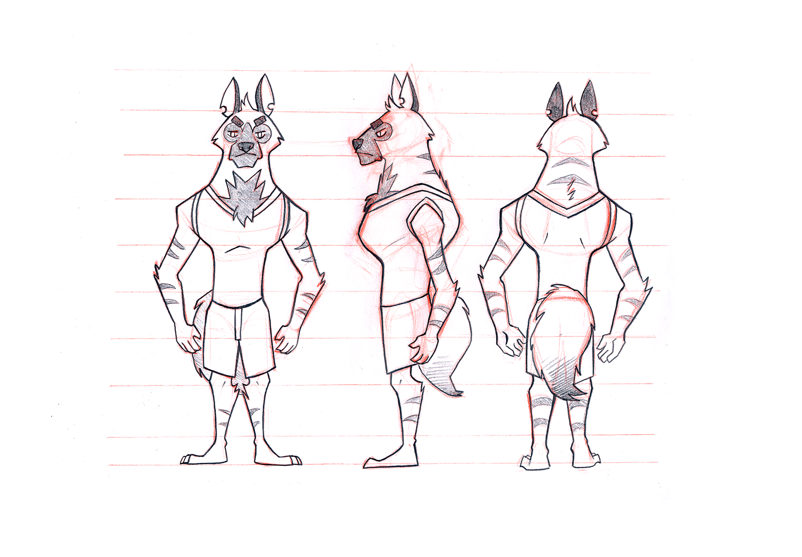 Anthropomorphic Character Designs Space Cadet