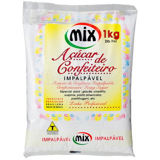 Açúcar de Confeitero Mix