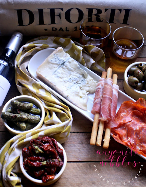 Gluten Free Italian Antipasti with Diforti