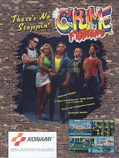 Portada videojuego Crime Fighters