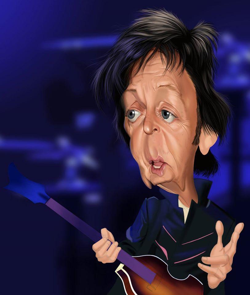 Paul McCartney por Fernando Buigues