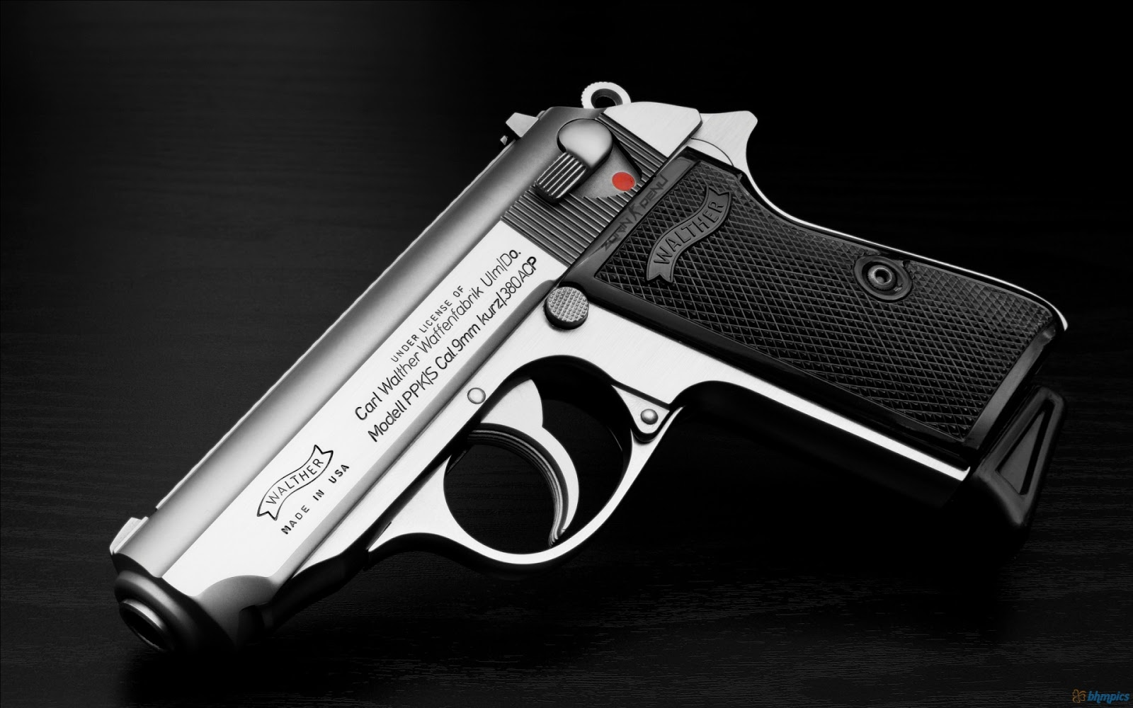 Pistol 3d Wallpaper Free Best Pictures Walther Firearms 1920x1200 Wide