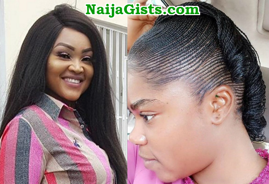 mercy aigbe lace wig damage hair line