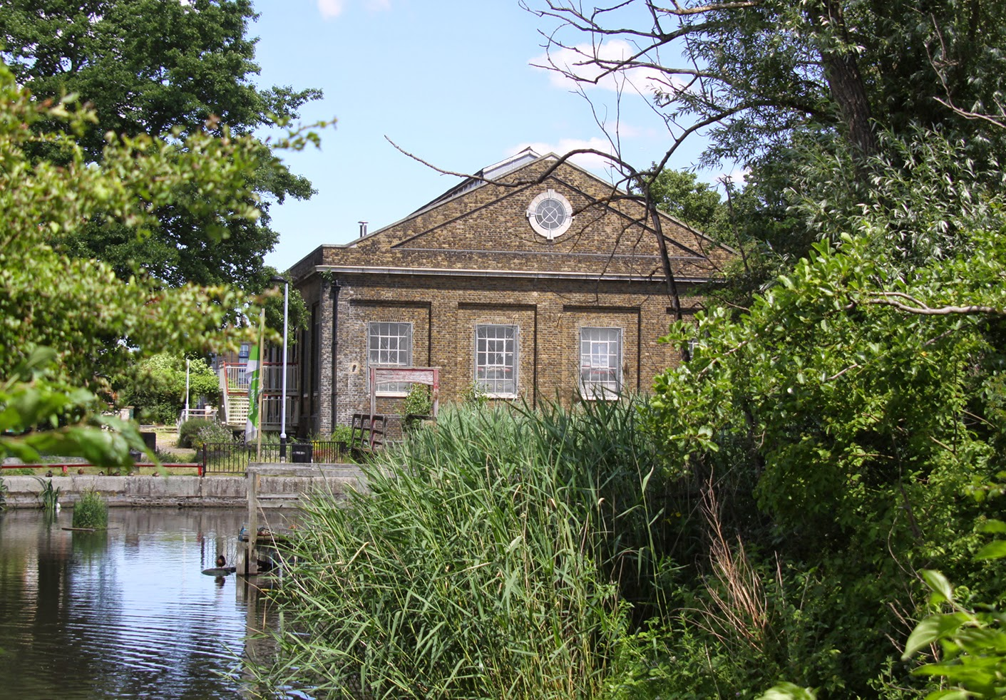 A Rotherhithe Blog, The Lavender Pumphouse