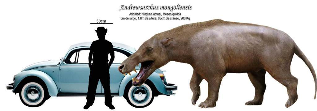 Dinosaur of the Week: Size and Andrewsarchus