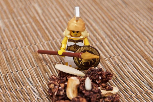 Kellogg's - Muesli - Muesli Granola - Breakfast - Petit-déjeuner - Breakfast cereals - Cacao - Chocolate - Ancient Legends - Épeautre - Avoine - Lego - Antic Warrior - Oat