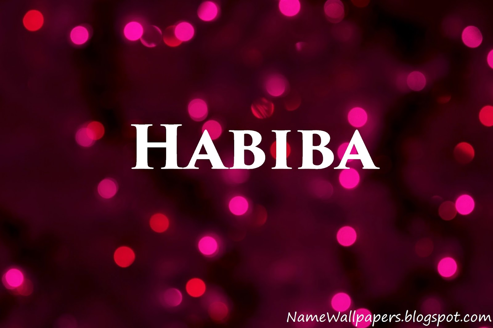 Umme habiba name wallpaper