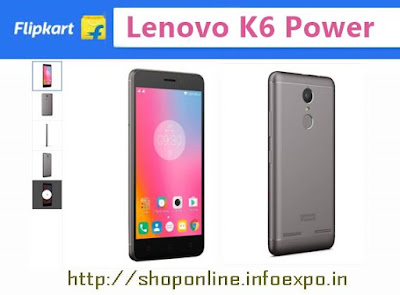Lenovo K6 Power specifications and price India, Buy online Lenovo K6 Power flipkart offers, snapdeal Lenovo K6 Power  Amazon Shopping online,offers on Lenovo K6 Power flipkart discounts,buy Lenovo 4g phones Rs.9000, Rs.8000 below 10000, Octacore lenovo  3 GB RAM, lenovo 4G Volte smartphone