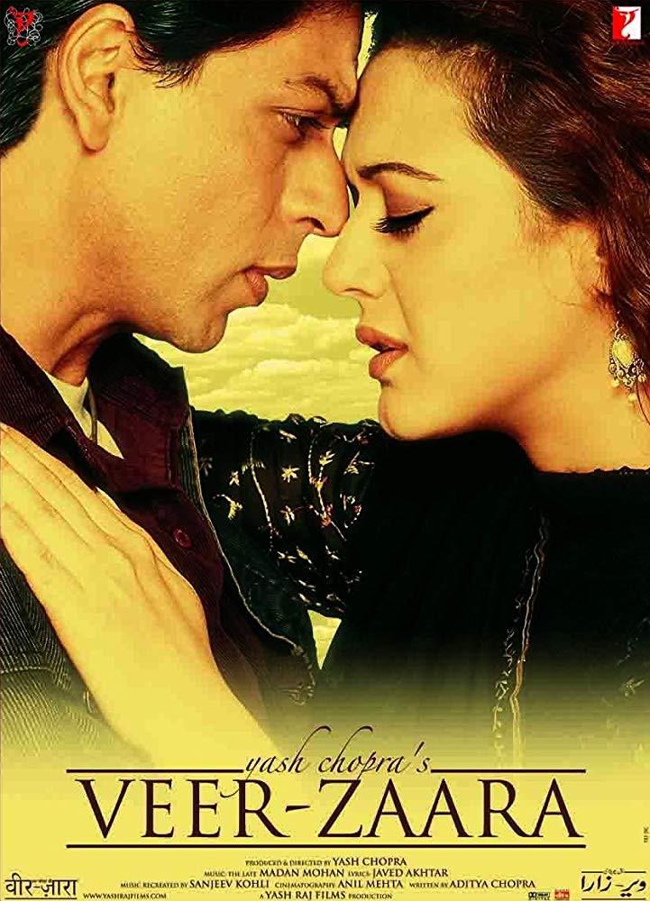 Veer Zaara 2004 Hindi Full Movie 600MB BluRay Download