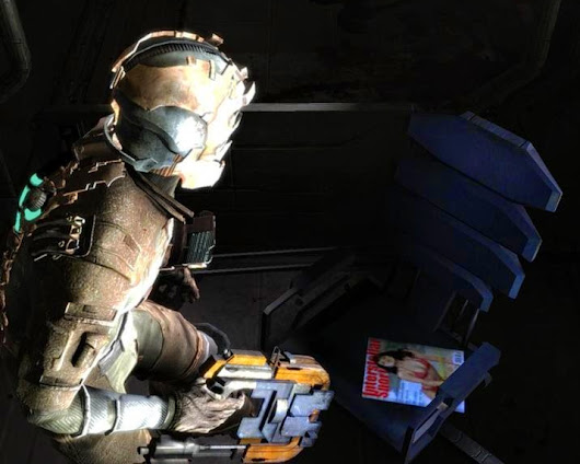 easter eggs: Dead space
