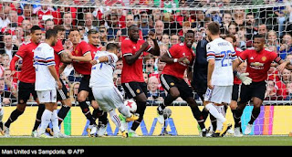 Video Gol Manchester United vs Sampdoria 2-1 MU Tour 2017