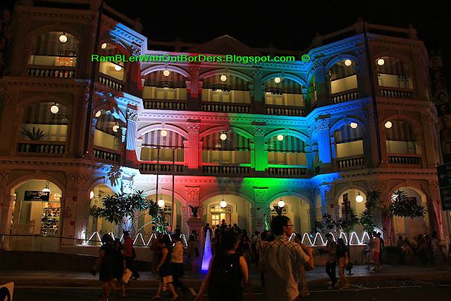 Light up, Peranakan Museum, Singapore Night festival, Singapore