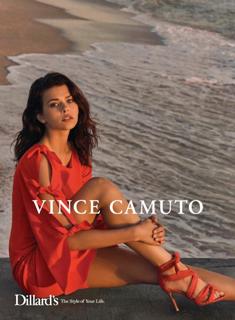 Vince Camuto's Spring 2018 Campaign