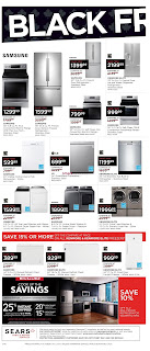 Sears Flyer October 5 – 11, 2017