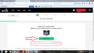 cara upload lagu ke smule
