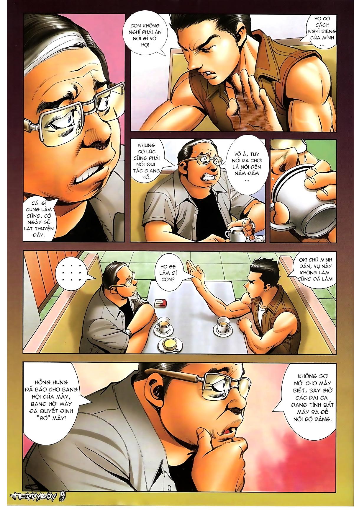 Người Trong Giang Hồ - Chapter 1319: Con trai Sinh Phiên - Pic 8