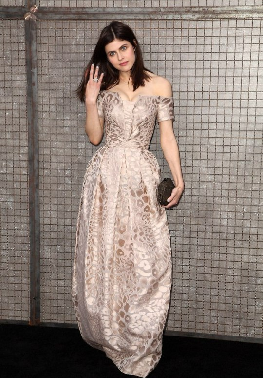Alexandra Daddario - Rampage Premiere