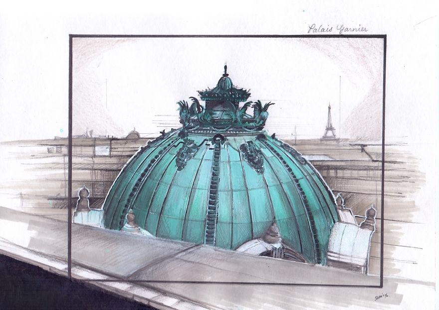 05-Palais-Garnier-Veevinci-Drawing-Architectural-Buildings-to-Relax-www-designstack-co