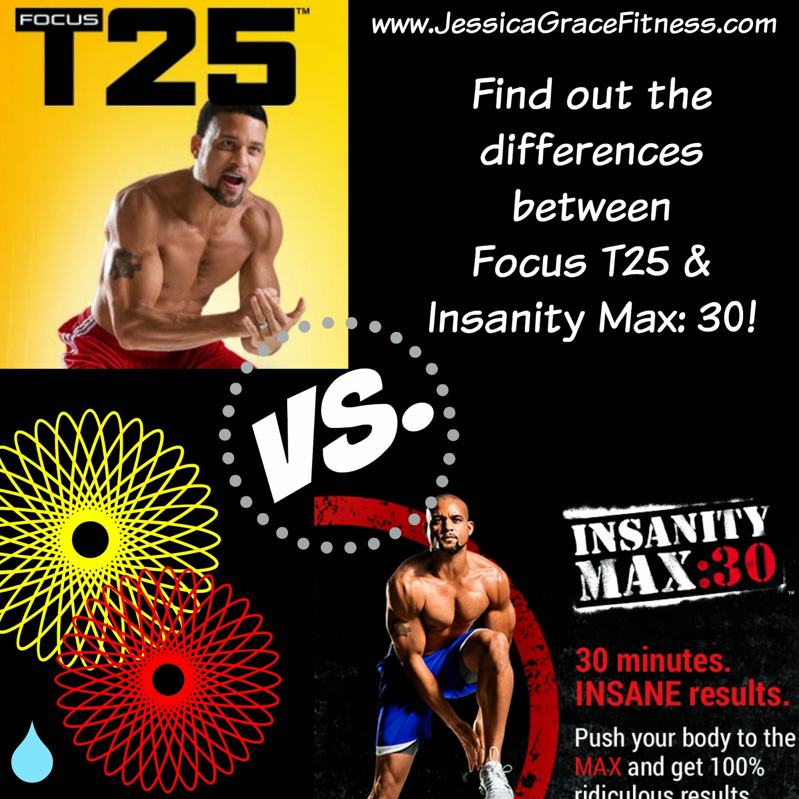 Insanity Workout T25: Jessica Grace Fitness: T25 Vs. Insanity MAX:30
