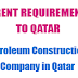 Job Opportunities | Petroleum Construction Company in Qatar