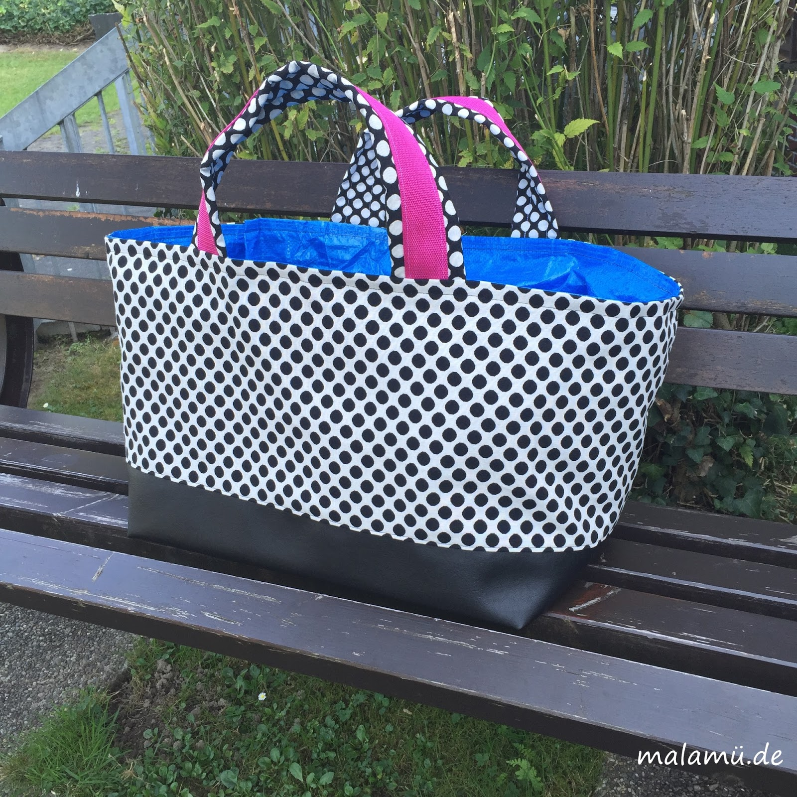 Einfach schöne Sachen...by malamü: Pimp my Ikea Bag - RUMs