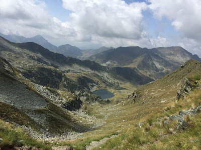 View of Laghi di Porcile from Passo Porcile.