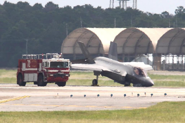 USAF F-35A ground mishap Eglin