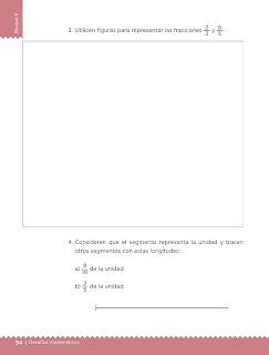 Apoyo Primaria Desafíos Matemáticos 4to. Grado Bloque II Lección 29 Partes de un todo