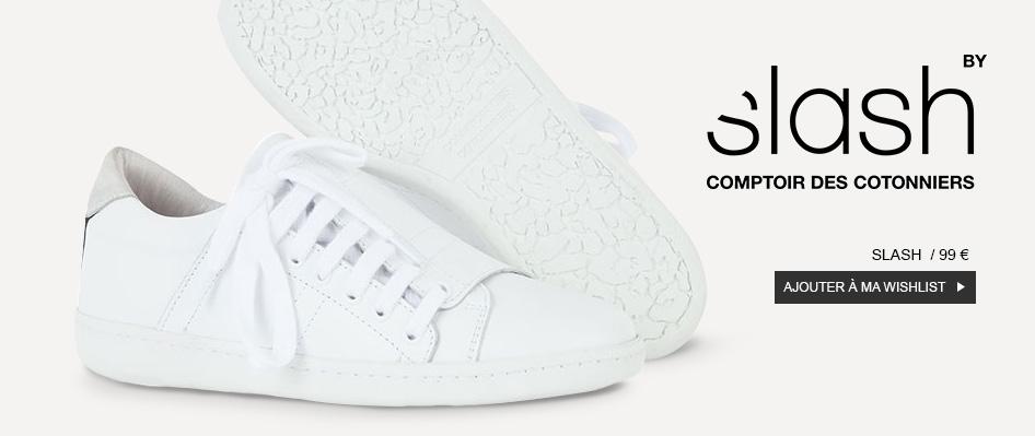 63b83cf941 A GALERIA LAFAYETTE recebe de 3 a 22 de agosto a pré-estreia do novo  sneaker SLASH da COMPTOIR DES COTONNIERS