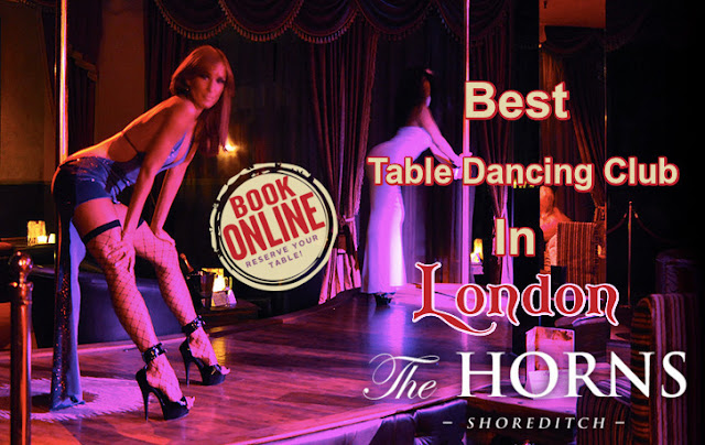 table Dancing London