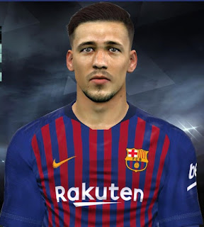 PES 2017 Faces Clément Lenglet by Facemaker Huseyn