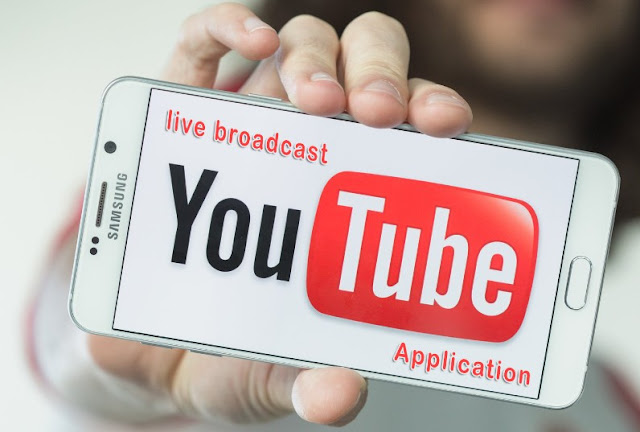 Coming live broadcast feature on the YouTube app!
