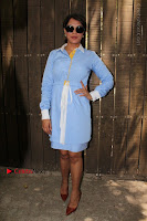 Richa Chadda Latest Pos in Blue Short Dress at the Screening Of Short Film Khoon Aali Chithi  0019.jpg