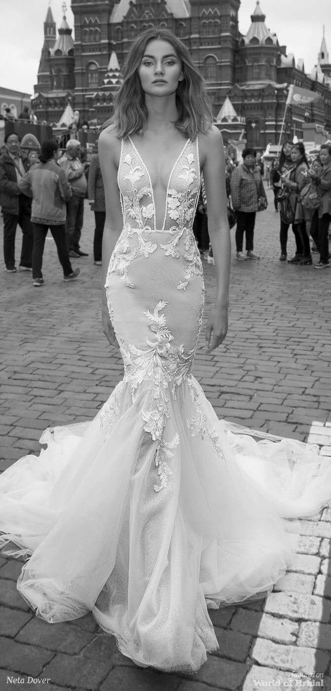 wedding dresses with straps 2018