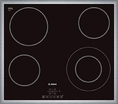 Bếp điện 3 bếp nấu Bosch PKK651F17E
