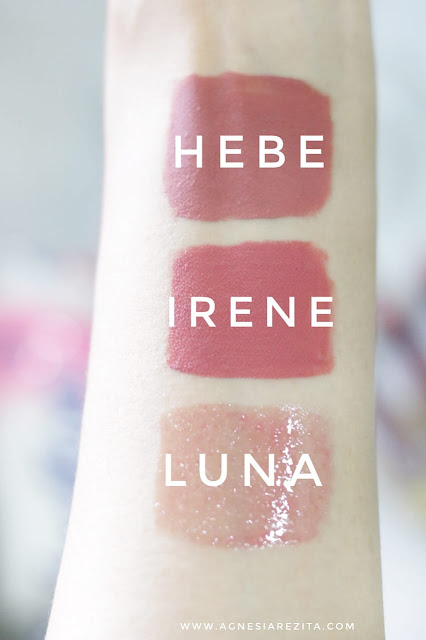 [Review] Looke Cosmetics Holy Lip Creme (Irene & Hebe) & Holy Lip Polish (Luna)