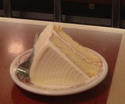 Melrose Diner Buttercream Cake Recipe