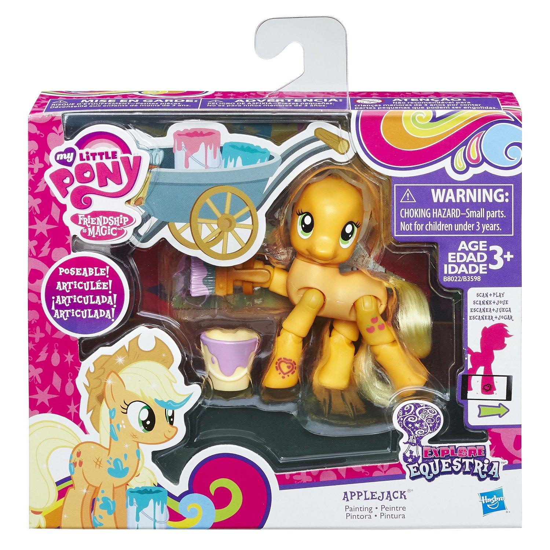 My Little Pony Explore Equestria Pinkie Pie Cheering Poseable Action Pony