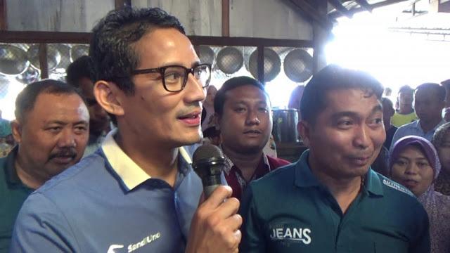 Sandiaga: Masyarakat Bingung KPU Bocorkan Pertanyaan Debat Pilpres