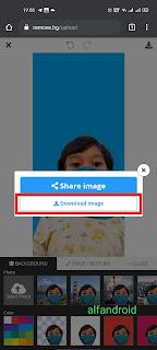 cara mengganti background foto tanpa aplikasi