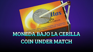 Moneda bajo la cerilla, ADHESION, Coin under the match