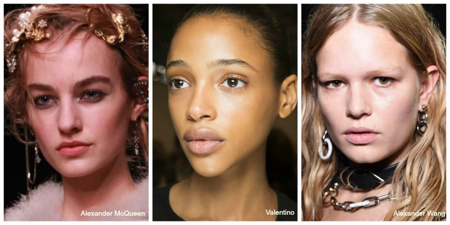 Fall 16 Makeup Trends highlighted skin