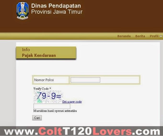 Cek Pajak Kendaraan Bermotor Online Jawa Timur Info Bayar Pajak Kendaraan Bermotor Samsat Online Pajak Kendaraan Bermotor Info Pkb Jawa Timur Jatim Online Download