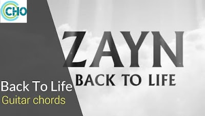 BACK TO LIFE Guitar Chords Accurate | Zayn Malik | Icarus Falls