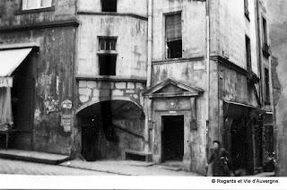 Clermont-Ferrand rue des Chaussetiers, rue Terrasse 1931