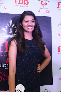 Model Shreya Kamavarapu in Short Black Dress at FBB Miss India 2017 finalists 059.JPG