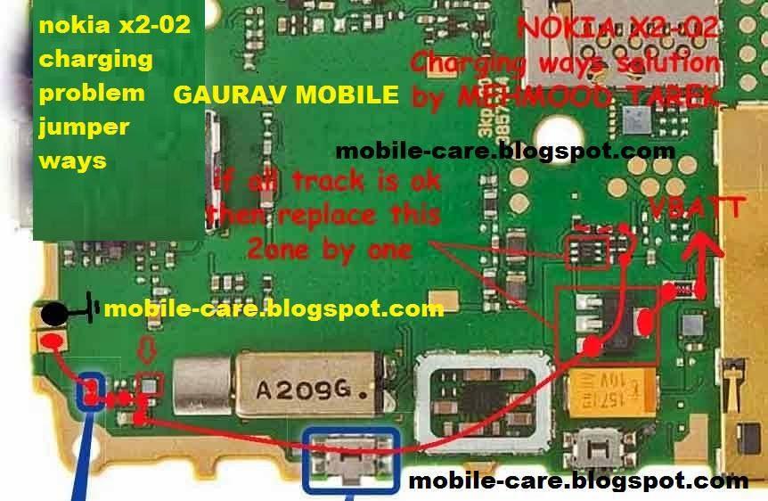 circuit diagram of nokia x2 02 circuit diagram of nokia x2 00 gaurav-mobile: nokia x2-02 charging problem ways repair #1