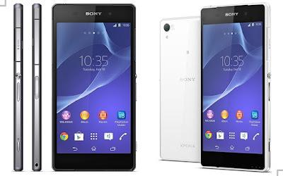 Harga dan Spesifikasi Sony Xperia Z2
